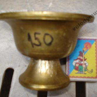 Соусник-спецовник 19 ст. бронзовий