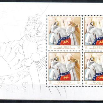 2009 Гернси - 500 лет Коронации Генри IX MNH **