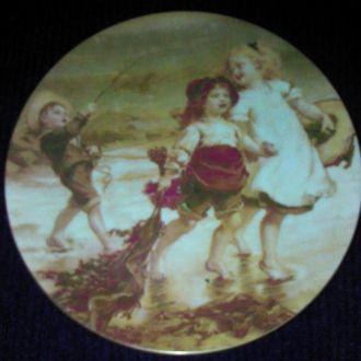 Декоративная тарелка, фарфор. Англия