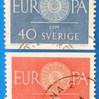 Швеция. 1960 г. Европа