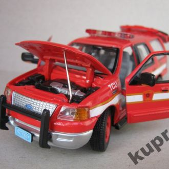 Ford Expedition Boston Fire Dept 1:43 Gearbox