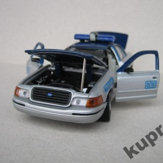 Ford Crown Victoria Virginia Police 1:43 Gearbox