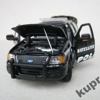 Ford Expedition Supervisor Police 1:43 Gearbox