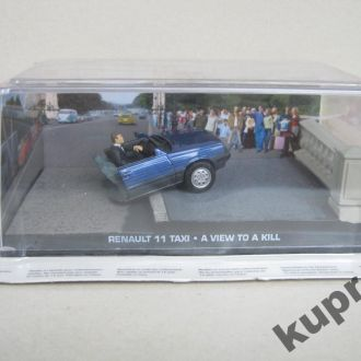 Renault 11 Taxi 1:43 007 James Bond Бонус #2
