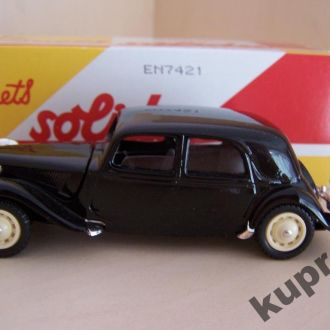 Citroen 15 Six 15cv 1939 1:43 Solido France