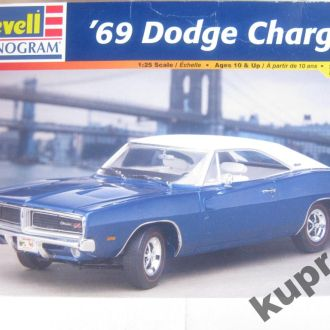 Dodge Charger 1969 1:25 Revell Monogram Model Kit