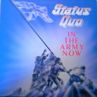 Status Quo  In The Army Now lp 1986