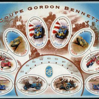 Франция Транспорт Автомобили 2005 MNH