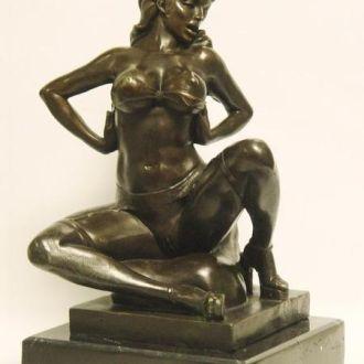 Скульптура Статуэтка Эротика бронза,