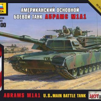 "Американский танк ""Абрамс"" Звезда7405"