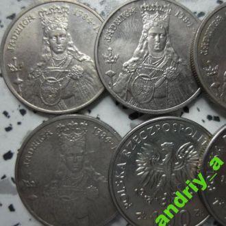 Польша  злотий (злотый) Королева Ядвига 1988р