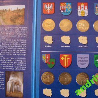 Монети АЛЬБОМ Польша Міста
