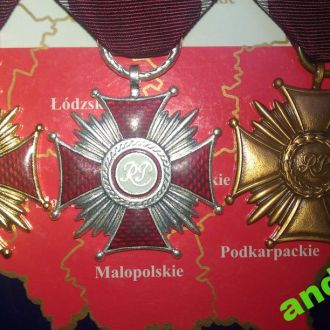 Польша Вислуга Хрести РП 1кт