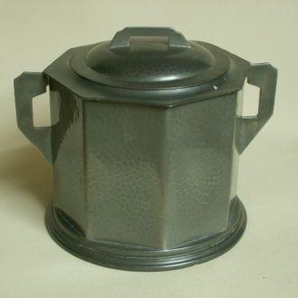 Старинная английская емкость для чая. Клеймо