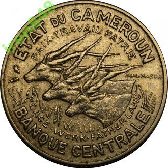 Камерун 100 франков 1966