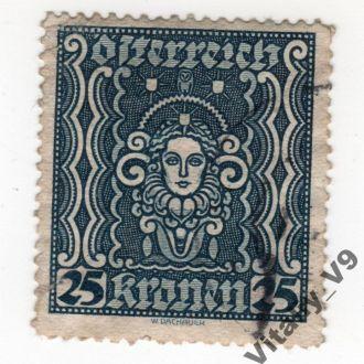 Австрия 289 A51 25k blue