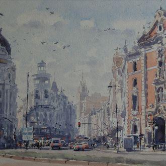 """Картина """"Мадрид"""" Микитенко В."""