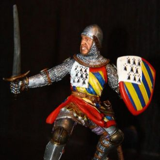 рыцарь (Papo Prestige) 90-100мм RRR №39736