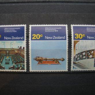 Новая Зеландия.1979г. Веллигтон. Полная серия. MNH