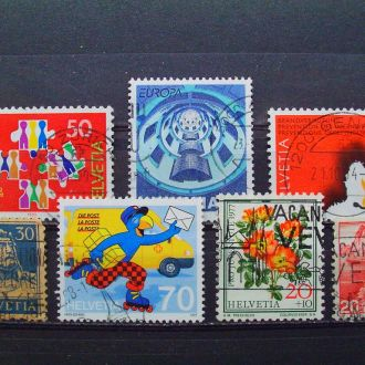 Швейцария.1921/97гг. Подборка.