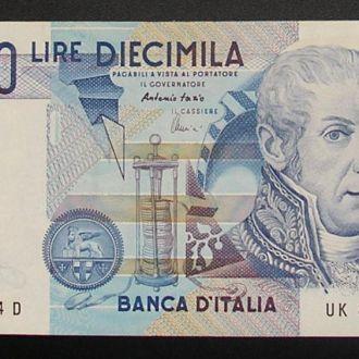 Италия 10000 лир Вольта