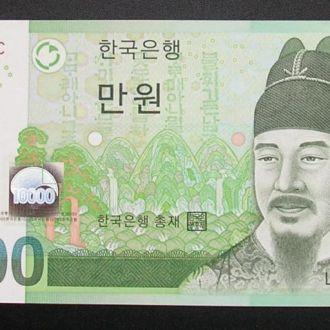 Южная Корея 10000 вон UNC