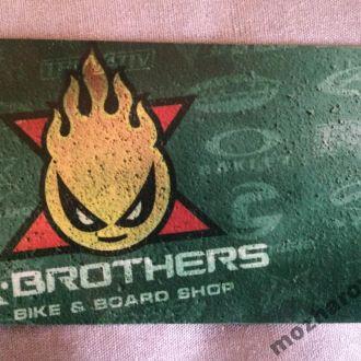 Карта X-BROTHERS