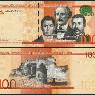Dominican R. / Доминикана - 100 Pesos 2014 UNC OLM