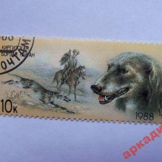 марки-СССР   с 1 гр 1988г- собаки