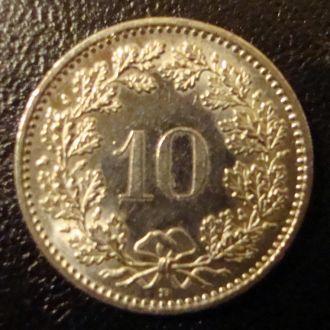Швейцария 10.20 раппен