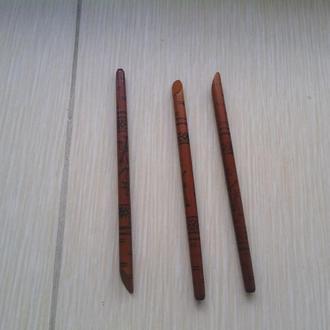 Ручка шариковая дерево винтаж