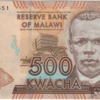 Малави 500 квача 2012г. в UNC