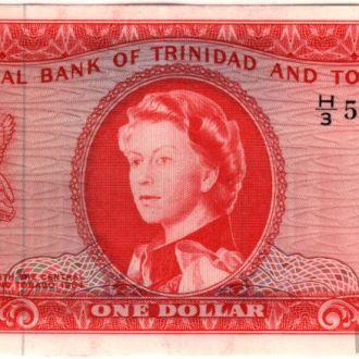 Тринидад и Тобаго 1 доллар 1964г. в UNC