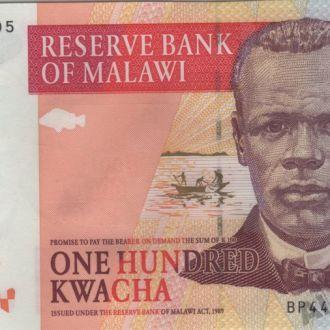 Малави 100 квача 2009г. в UNC