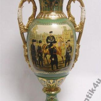 фарфор большая ваза позолота Франция 55 см ! Доставка бесплатно !