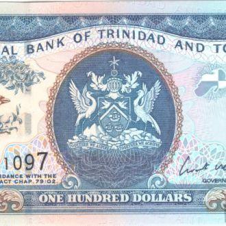 Тринидад и Тобаго 100 долларов 2006г. в UNC