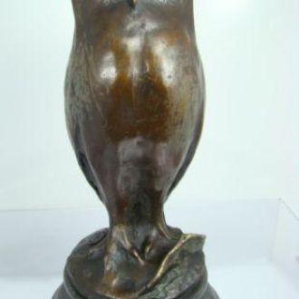 бронзовая статуэтка Сова , бронза. Доставка бесплатно !