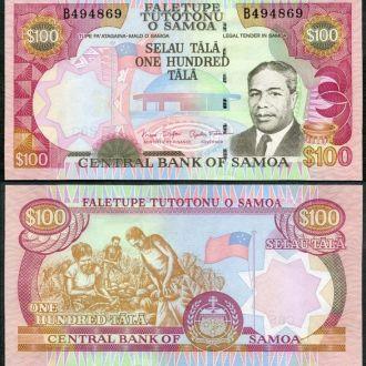 Samoa / Самоа - 100 Tala 2005 - UNC - OLM-OPeN