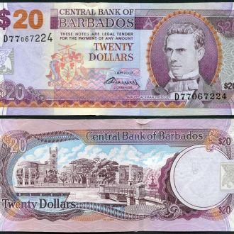 Barbados / Барбадос - 20 Dollars 2007 (2009) UNС