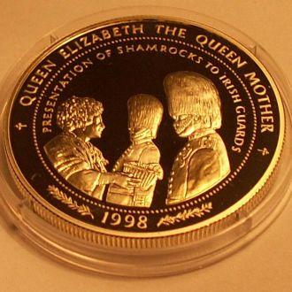 10 долларов1998 г.Самоа . 31.8 г. Ag 925 пр. ПРУФ.