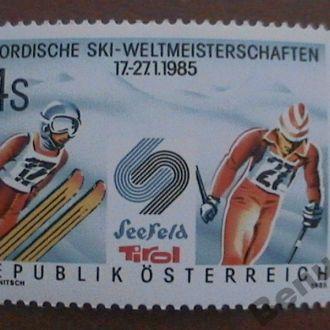 Австрия 1985 MNH