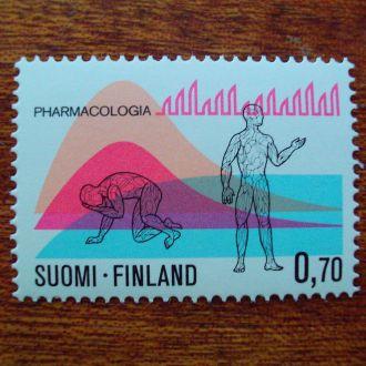 Финляндия.1975г. Медицина. Диаграмма. Полная серия. MNH