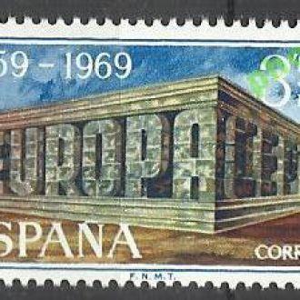Испания 1969 Европа СЕПТ 1м.**