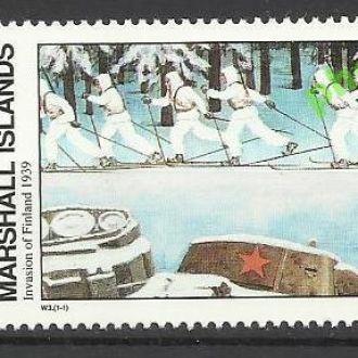 Маршаллы 1989 оккупация Финляндии W3 1м.**