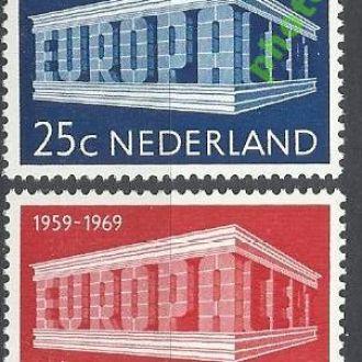 Нидерланды 1969 Европа СЕПТ 2м.**