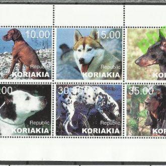 Россия Корякия 19?? фауна собаки 6м.**