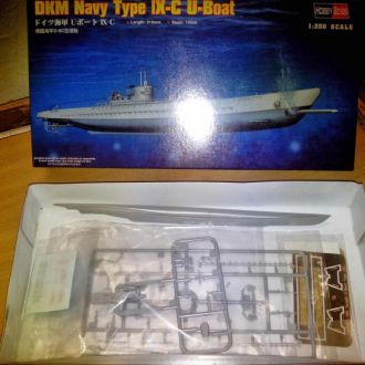 1/350 HOBBY BOSS German U-boat type IX C