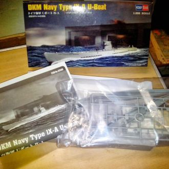 1/350 HOBBY BOSS German U-boat type IX A
