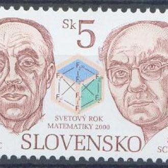 Словакия 2000 Математики 1м.**