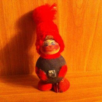 Игрушка новогодняя ёлочная  деревянная СССР
